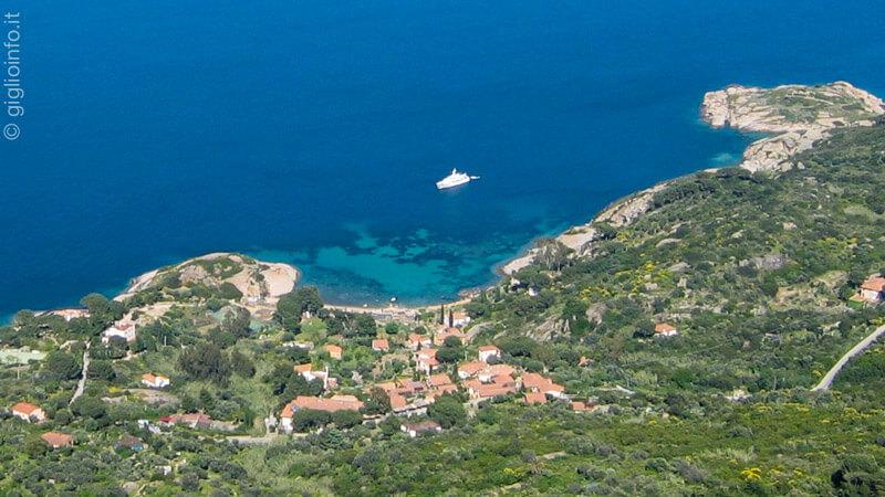 Isola del Giglio Appartamenti - Veduta Arenella