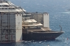 re-floating costa concordia july 2014