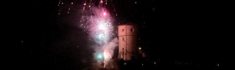 Festa di San Rocco Giglio Campese - Fuochi Artificiali Torre