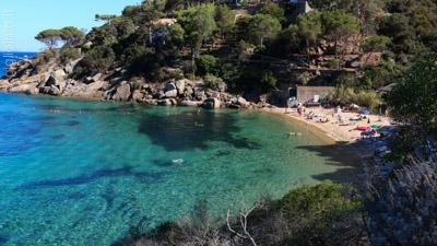 Spiaggia delle Caldane, Isola del Giglio