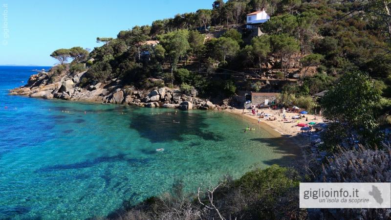 Isola del Giglio - Spiagge e Coste - Campese, Arenella, Cannelle ...