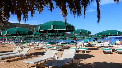 Spiaggia attrezzata da Meco, Isola del Giglio Campese