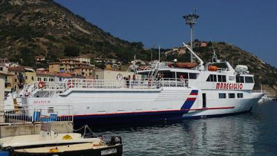 Traghetto Dianium, Maregiglio