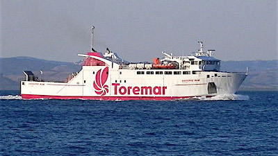 Traghetto Giuseppe Rum, Toremar
