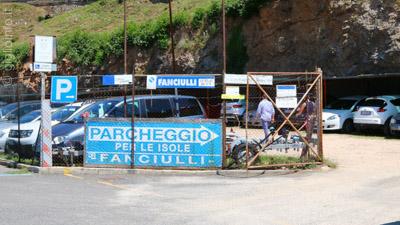 Parcheggio Fanculli Porto Santo Stefano