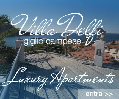 Villa Delfi Appartamenti Isola del Giglio Campese