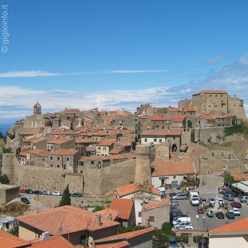 Veduta Giglio Castello, Isola del Giglio