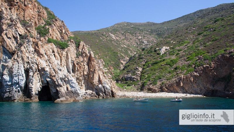 Calette e Insenature Costa Isola del Giglio