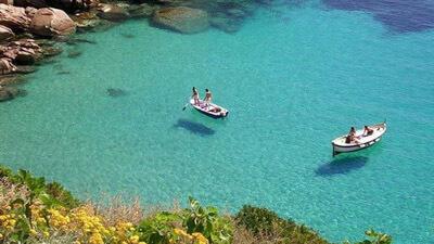 Barche Caletta Isola del Giglio