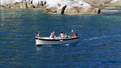 Barca all'Isola del Giglio