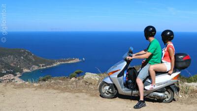 Scooter Isola del Giglio