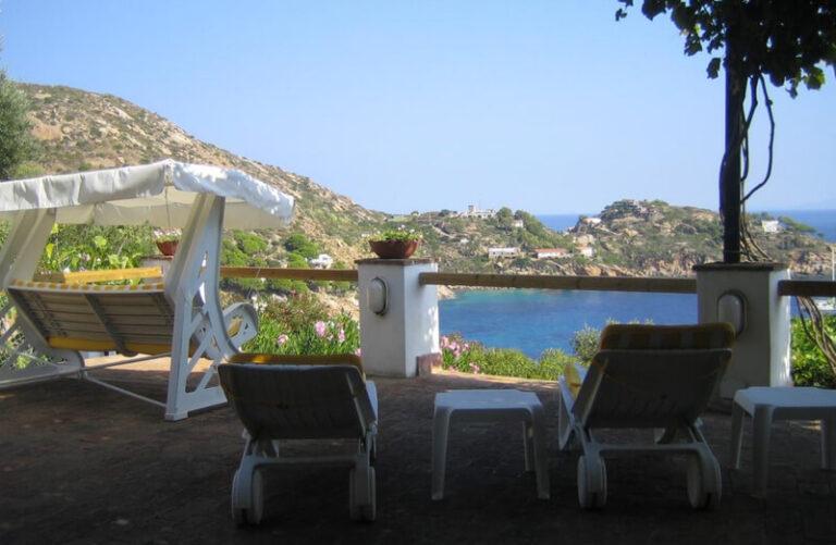 Terrazza Villa Cala delle Cannelle, Isola del Giglio