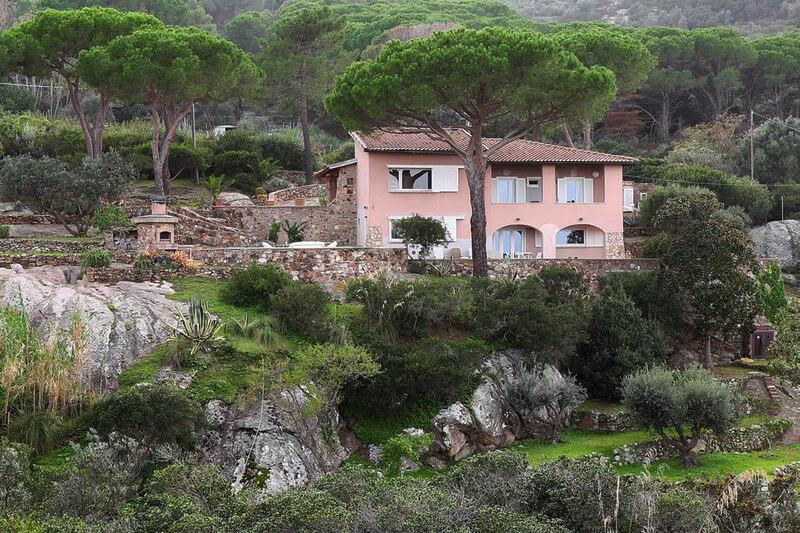 Villa Cala dell'Arenella, Isola del Giglio