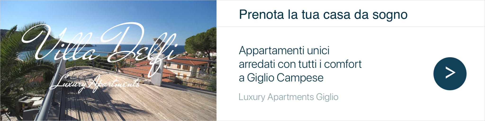 Villa Delfi Appartamenti Giglio Campese Banner