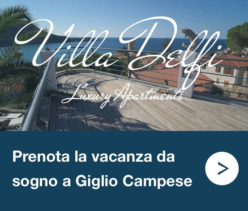 Villa Delfi Appartamenti Giglio Campese Banner M