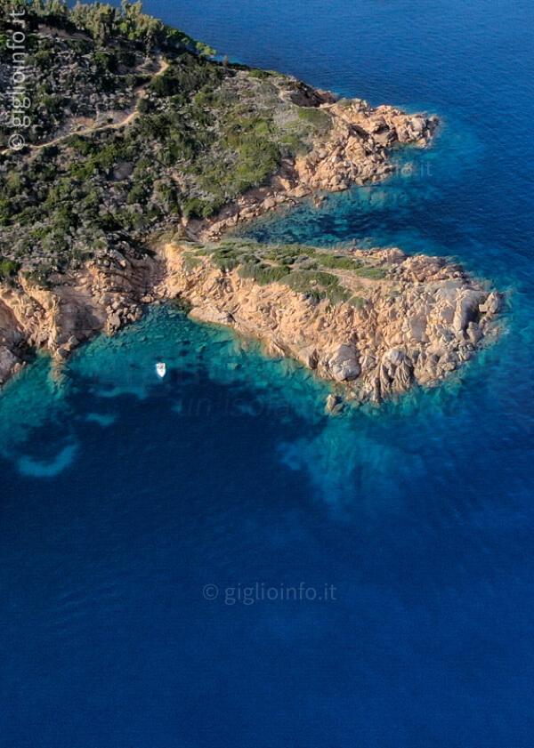 Capo Marino, Costa Isola del Giglio