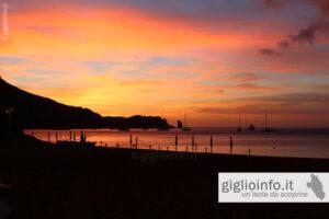 Tramonto Spiaggia di Campese, Isola del Giglio
