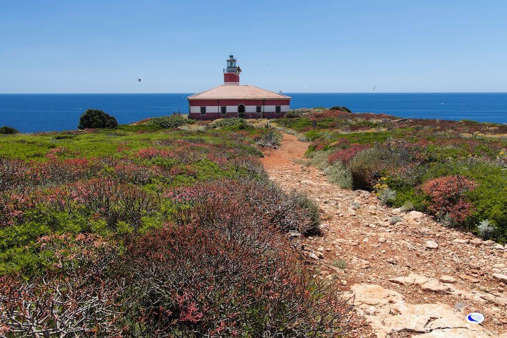 Faro di Capel Rosso, Isola di Giannutri