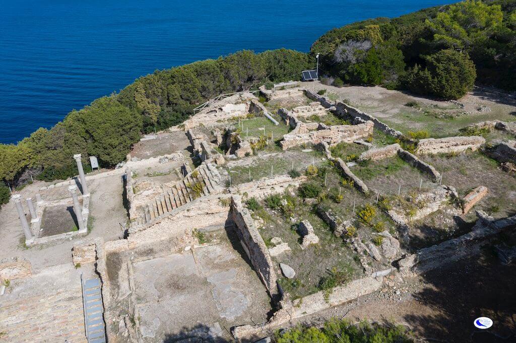 Villa Romana Isola di Giannutri
