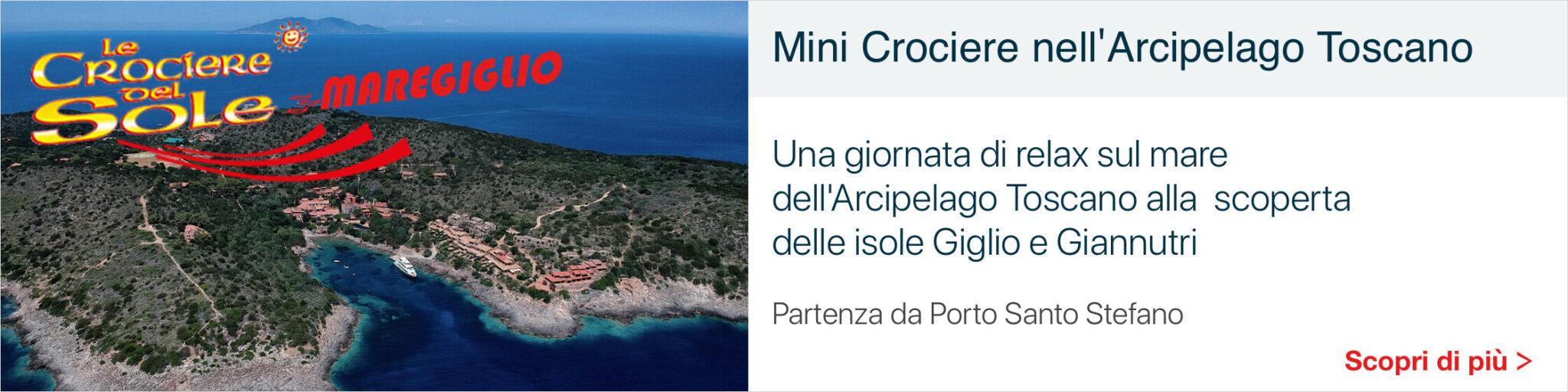 Mini Crociere Arcipelago Toscano - Banner Maregiglio
