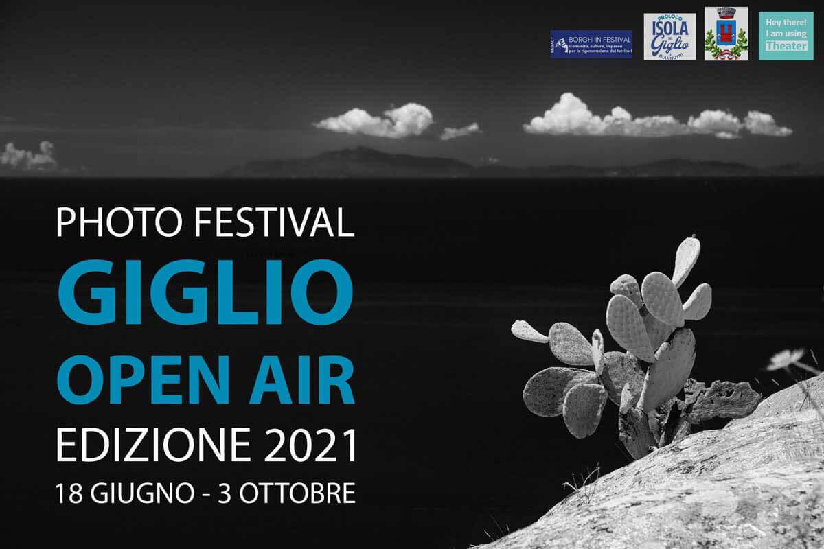 Locandina Photo Festival Giglio open Air 2021