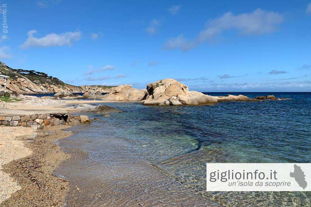 Spiaggia dello Scalettino, Isola del Giglio