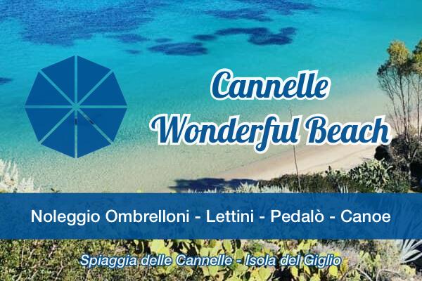 Cannelle Spiaggia Attrezzata Wonderful Beach Logo