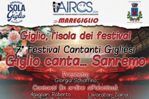 Festival dei Cantanti Gigliesi - Locandina Preview