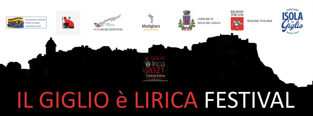 Logo e Sponsor Giglio è Lirica Festival 2021