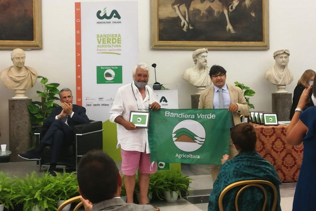 Premiazione Altura Vigneto Bandiera Verde Agricultura