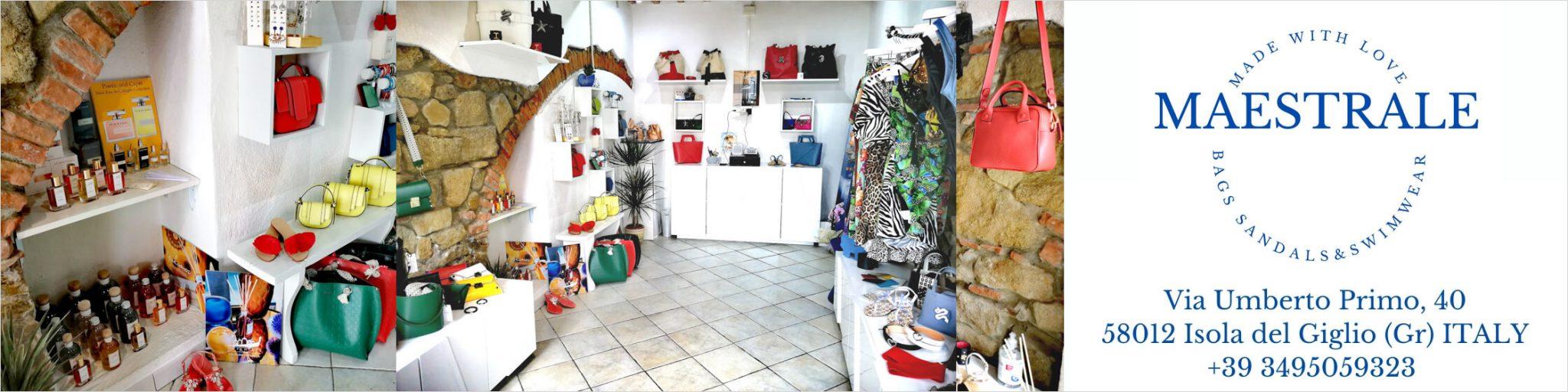 Banner Boutique Maestrale Giglio Porto