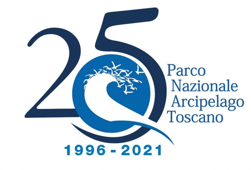 Logo 25esimo Parco Nazionale Arcipelago Toscano