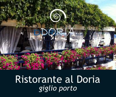 Banner Ristorante al Doria Isola del Giglio Porto