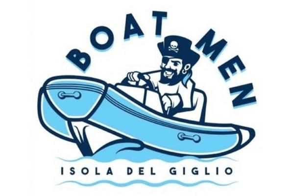 Taxi Boat Boatmen Giglio Porto Logo
