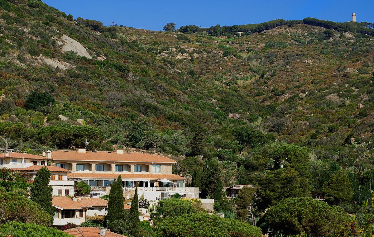 Veduta Hotel Arenella, Isola del Giglio
