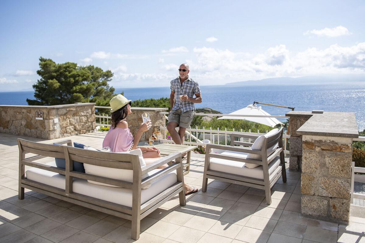 Aperitivo sulla Terrazza, Hotel Arenella, Isola del Giglio