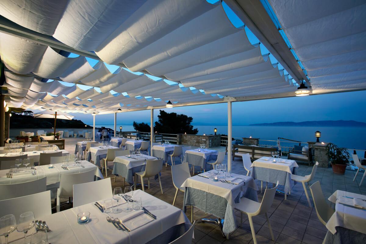 Ristorante, Hotel Arenella, Isola del Giglio