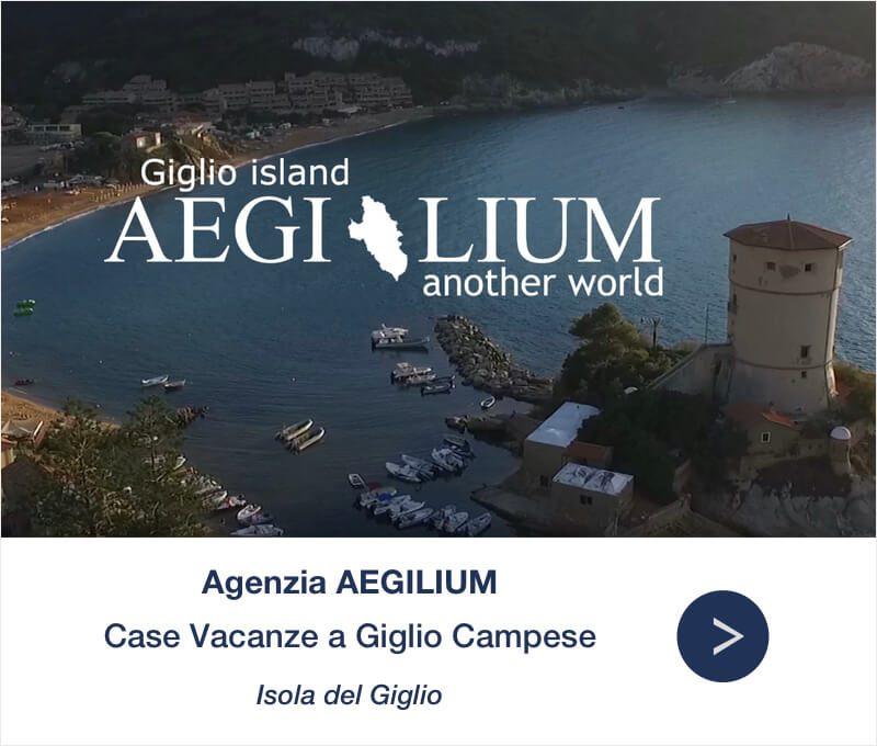 Isola del Giglio Campese Appartamenti Aegilium Banner